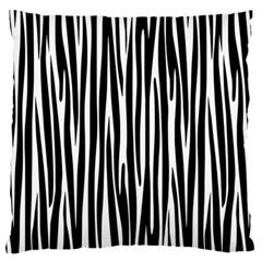 Zebra pattern Large Cushion Case (One Side)