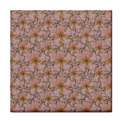 Nature Collage Print Tile Coasters