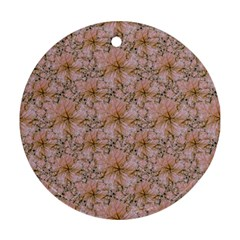 Nature Collage Print Ornament (Round)