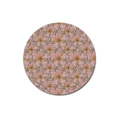 Nature Collage Print Magnet 3  (Round)