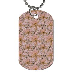 Nature Collage Print Dog Tag (Two Sides)