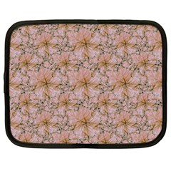 Nature Collage Print Netbook Case (Large)