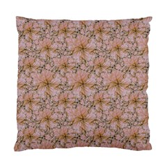 Nature Collage Print Standard Cushion Case (One Side)