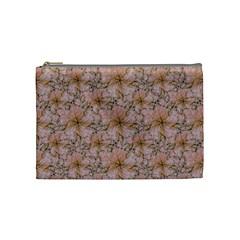 Nature Collage Print Cosmetic Bag (Medium)