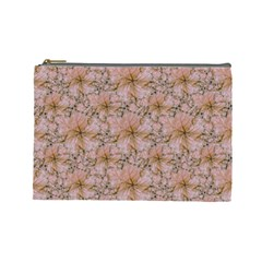 Nature Collage Print Cosmetic Bag (Large)