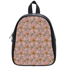 Nature Collage Print School Bags (Small)