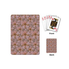 Nature Collage Print Playing Cards (Mini)