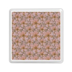 Nature Collage Print Memory Card Reader (Square)