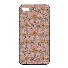 Nature Collage Print Apple iPhone 4/4s Seamless Case (Black)