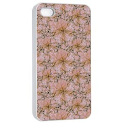 Nature Collage Print Apple iPhone 4/4s Seamless Case (White)