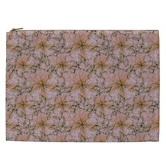 Nature Collage Print Cosmetic Bag (XXL)