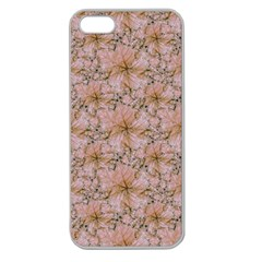Nature Collage Print Apple Seamless iPhone 5 Case (Clear)