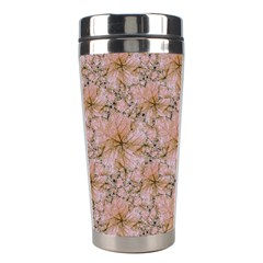 Nature Collage Print Stainless Steel Travel Tumblers