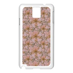 Nature Collage Print Samsung Galaxy Note 3 N9005 Case (White)