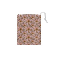 Nature Collage Print Drawstring Pouches (XS)