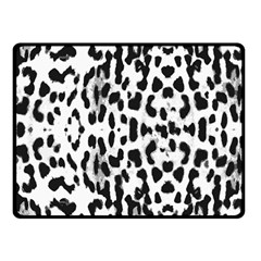 Animal print Fleece Blanket (Small)