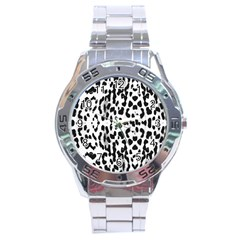 Animal print Stainless Steel Analogue Watch