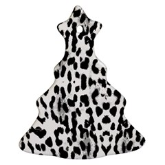 Animal print Christmas Tree Ornament (Two Sides)