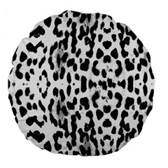 Animal print Large 18  Premium Round Cushions