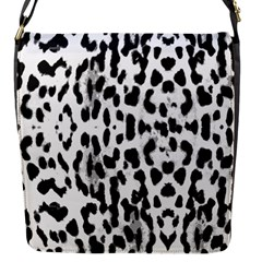 Animal print Flap Messenger Bag (S)