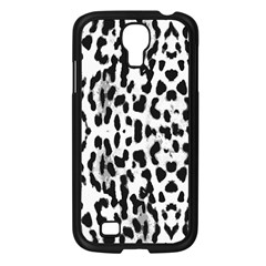 Animal print Samsung Galaxy S4 I9500/ I9505 Case (Black)