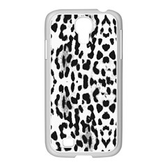 Animal print Samsung GALAXY S4 I9500/ I9505 Case (White)