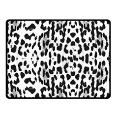 Animal print Double Sided Fleece Blanket (Small)