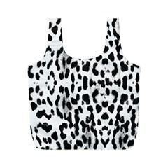 Animal print Full Print Recycle Bags (M)