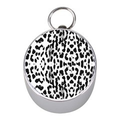 Animal print Mini Silver Compasses