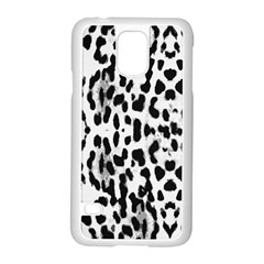 Animal print Samsung Galaxy S5 Case (White)