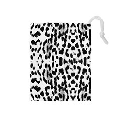 Animal print Drawstring Pouches (Medium)