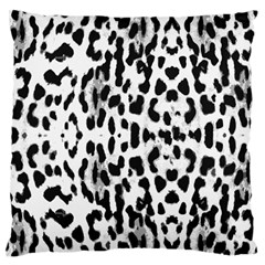 Animal print Large Flano Cushion Case (Two Sides)