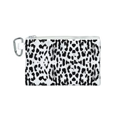 Animal print Canvas Cosmetic Bag (S)