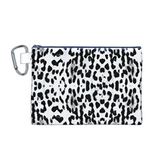 Animal print Canvas Cosmetic Bag (M)