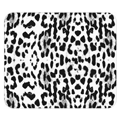 Animal print Double Sided Flano Blanket (Small)