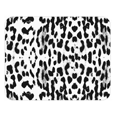Animal print Double Sided Flano Blanket (Large)