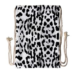 Animal print Drawstring Bag (Large)