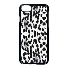 Animal print Apple iPhone 7 Seamless Case (Black)