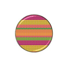 Pattern Hat Clip Ball Marker (4 pack)