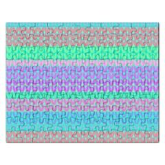 Pattern Rectangular Jigsaw Puzzl
