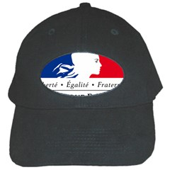 Symbol of the French Government Black Cap