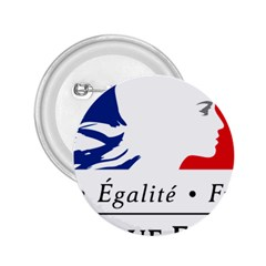 Symbol of the French Government 2.25  Buttons