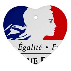 Symbol of the French Government Ornament (Heart)