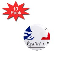 Symbol of the French Government 1  Mini Magnet (10 pack)