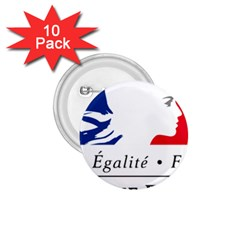 Symbol of the French Government 1.75  Buttons (10 pack)