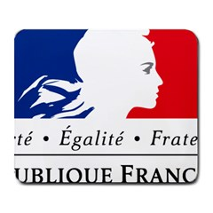 Symbol of the French Government Large Mousepads