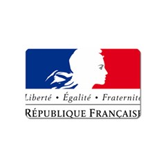 Symbol of the French Government Magnet (Name Card)