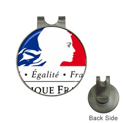 Symbol of the French Government Hat Clips with Golf Markers