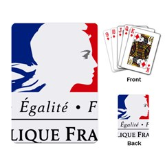 Symbol of the French Government Playing Card