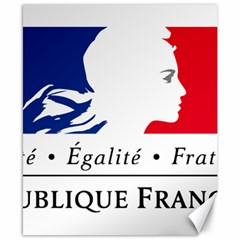 Symbol of the French Government Canvas 8  x 10